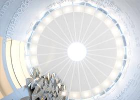 Купол в холле